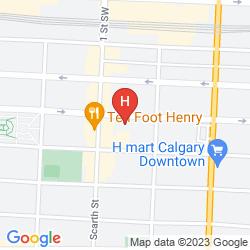 Karte HOLIDAY INN DOWNTOWN