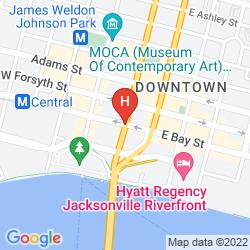 Karte HOWARD JOHNSON INN AND SUITES