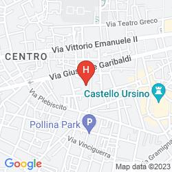 Karte CATANIA CITY CENTER B&B