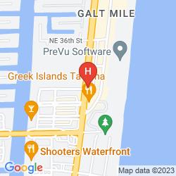 Karte BLUE LAGOON RESORT