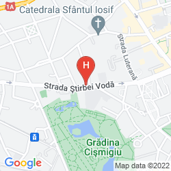 Karte EPOQUE HOTEL - RELAIS & CHATEAUX