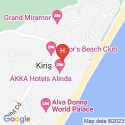 Karte SAILOR'S BEACH CLUB