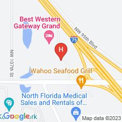 Karte BEST WESTERN GATEWAY GRAND