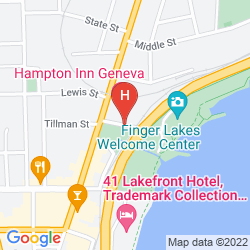 Karte HAMPTON INN GENEVA