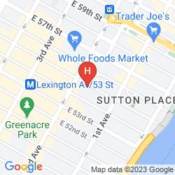 Karte ALTRO SUTTON PLACE BY GLOBE QUARTERS