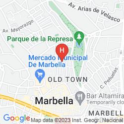 Karte HOSTAL EL GALLO