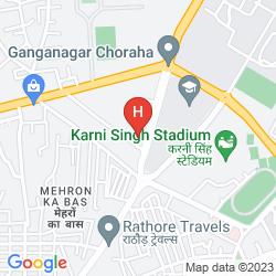 Karte LALLGARH PALACE