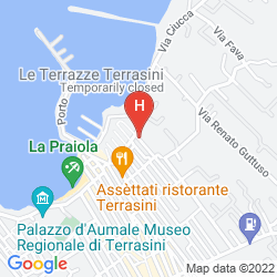 Karte RESIDENCE LA GIARA