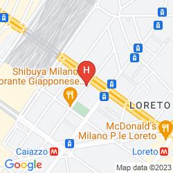 Karte RESIDENZA DELLE CITTA'