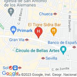 Karte HOSTAL CASA BUENO
