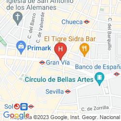 Karte HOSTAL CHELO