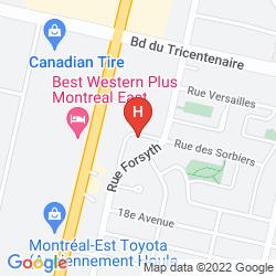 Karte HOTEL LE PRESTIGE