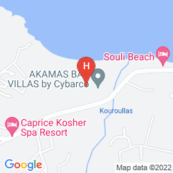 Karte SOULI BEACH HOTEL