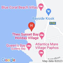 Karte VRACHIA BEACH RESORT