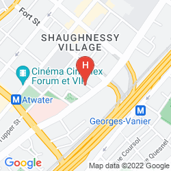 Karte HOTEL LE SAINT MALO