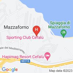 Karte SPORTING CLUB