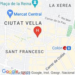 Karte AYRE HOTEL ASTORIA PALACE