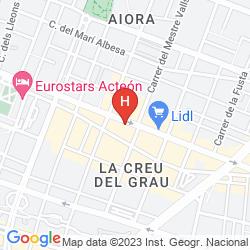 Karte NH CIUDAD DE VALENCIA
