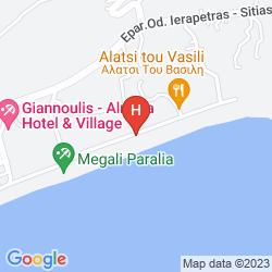 Karte CHC CORIVA BEACH