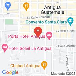 Karte CASA LA CAPILLA