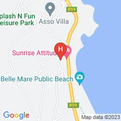 Karte EMERAUDE BEACH ATTITUDE