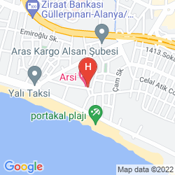Karte ARSI HOTEL