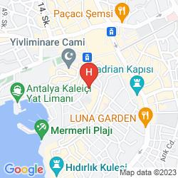 Karte TUVANA HOTEL
