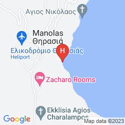 Karte ZACHARO ROOMS