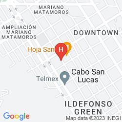 Karte CASA PABLITO BED & BREAKFAST HOTEL