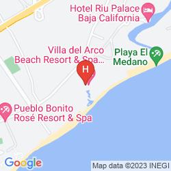 Karte VILLA DEL ARCO BEACH RESORT & SPA