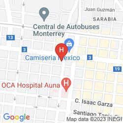 Karte PLAZA DEL ARCO
