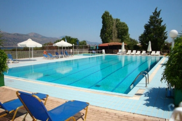 Hotel Terra Mare: Aussen Pool KEFALONIA