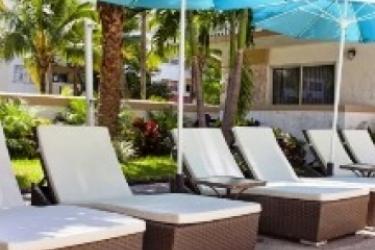 Hotel Coral Reef Suites Key Biscayne Mia: Terrasse KEY BISCAYNE (FL)