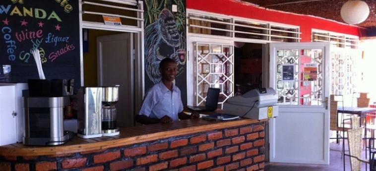 Discover Rwanda Youth Hostel: Business Centre KIGALI