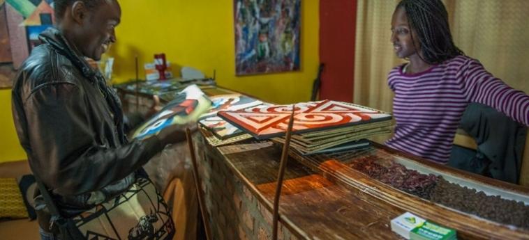 Discover Rwanda Youth Hostel: Restaurante KIGALI