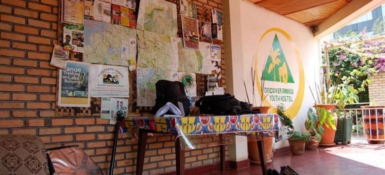 Discover Rwanda Youth Hostel: Cheminée KIGALI