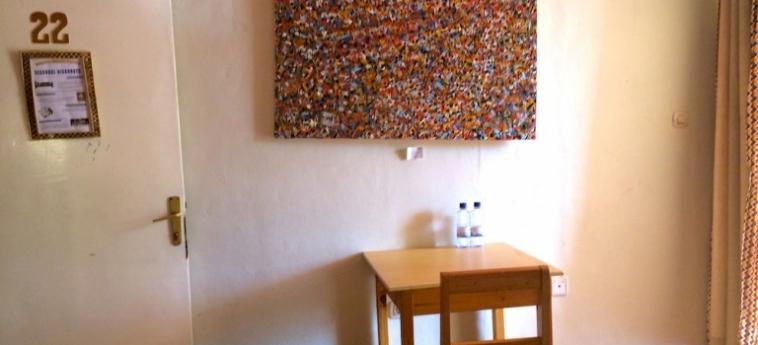 Discover Rwanda Youth Hostel: Salle de Réunion KIGALI