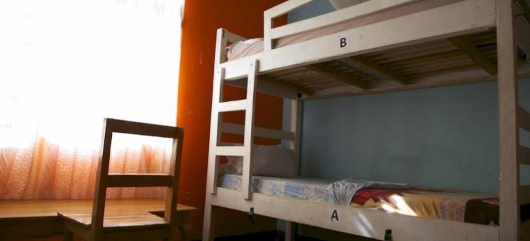 Discover Rwanda Youth Hostel: Véranda KIGALI