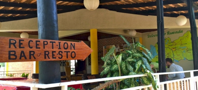 Discover Rwanda Youth Hostel: Hotellage KIGALI