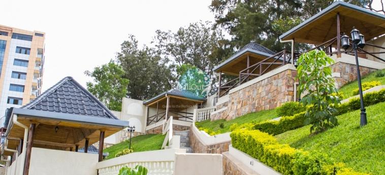 Hotel Hillcrest: Außen KIGALI