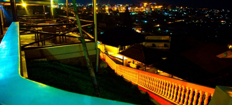 Hotel Hillcrest: Blick vom Hotel KIGALI