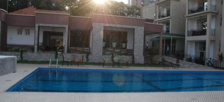 Grazia Apartments: Swimming Pool KIGALI