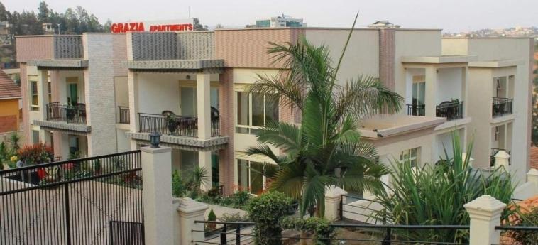 Grazia Apartments: Außen KIGALI