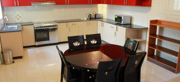 Grazia Apartments: Küche KIGALI