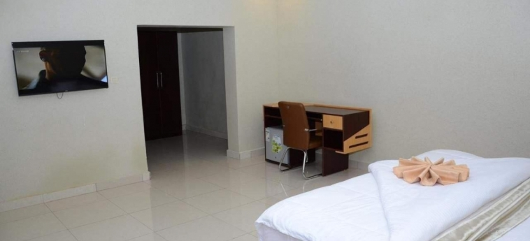 Grazia Apartments: Schlafzimmer KIGALI