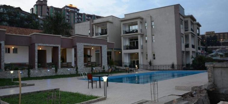 Grazia Apartments: Schwimmbad KIGALI