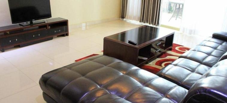 Grazia Apartments: Living Room KIGALI