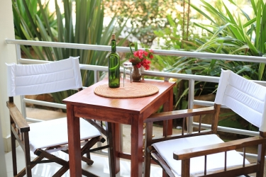 Heaven Restaurant & Boutique Hotel: Balcony KIGALI
