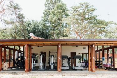 Heaven Restaurant & Boutique Hotel: Fitnessraum KIGALI