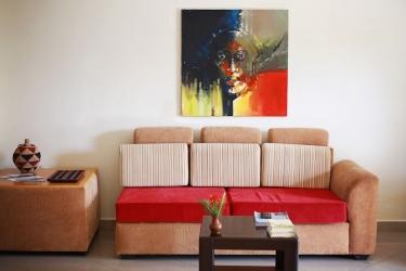 Heaven Restaurant & Boutique Hotel: Hotel interior KIGALI